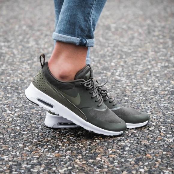 Nike Khaki Green Air Max Thea Sneakers 30dde8a64